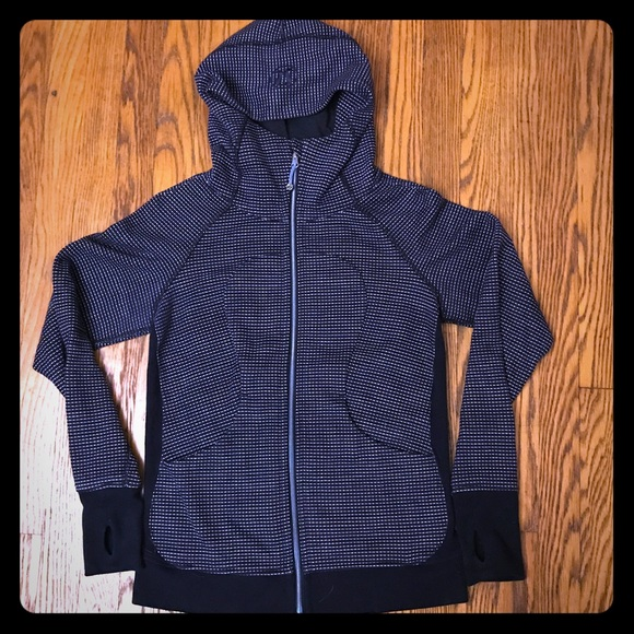 Lululemon Scuba Hoodie with Iridescent Zipper